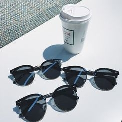 Soulcity - Retro Round Sunglasses