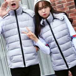 Bay Go Mall - Couple Matching Padded Vest