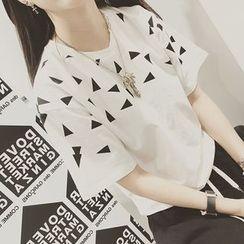 SMA - Short-Sleeve Print T-Shirt