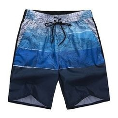 ZONZO - Printed Beach Shorts