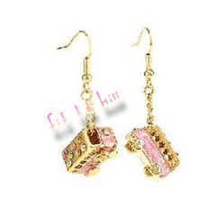Fit-to-Kill - Mini Pinky Bus Earrings