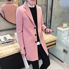 Breeson - Notched Lapel Coat