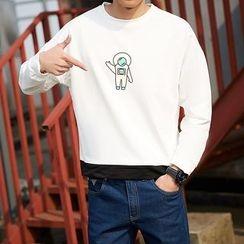 Danjieshi - Printed Sweatshirt
