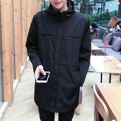 Dubel - Hooded Zip Coat