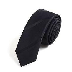 Xin Club - Striped Slim Neck Tie (5cm)