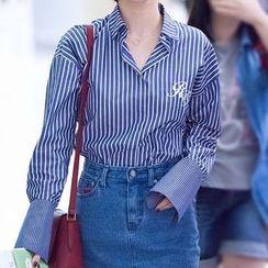 EFO - 長袖條紋襯衫