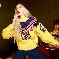 ELF SACK - Jacquard Sweater