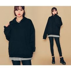 HOTPING - Hooded Cotton Top