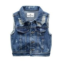 Kido - Kids Ripped Denim Vest
