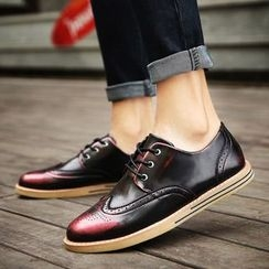 MARTUCCI - Wing-Tip Oxfords