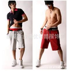uninukoo - 抽绳腰短裤