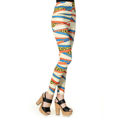 59 Seconds - Belt-Print Leggings