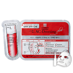 LEADERS - 2Step AC-Dressing Mask Plus 25ml + Ampoule 2ml
