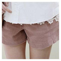 Sechuna - Band-Waist Shorts
