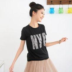 59 Seconds - Short-Sleeve 'NYC' Print T-Shirt