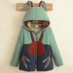 Suzette - Rabbit Ear Hooded Jacket