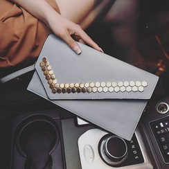 Rosanna Bags - Studded Envelope Clutch