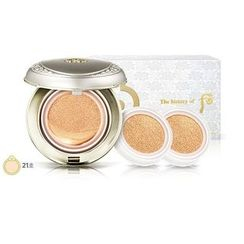 The History of Whoo - Gongjinhyang Seol Moisture Glow Cushion: Radiant White Moisture Cushion Foundation SPF50+ PA+++ With Refill (#21)