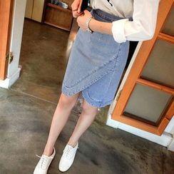 Isadora - 高腰牛仔短裙