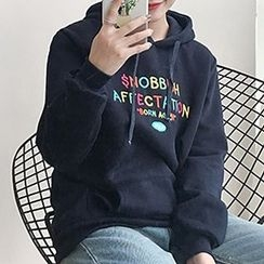 Fashion Street - Embroidered Hoodie