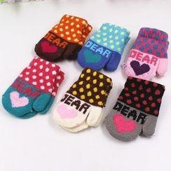 Evora - Kids Dotted Gloves