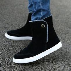 Rizmond - Faux Suede Short Boots