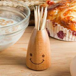 三木青禾 - 木筷罐