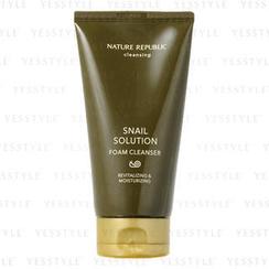 Nature Republic - Snail Solution Foam Cleanser