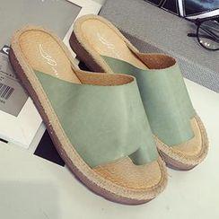 MXBoots - 套趾厚底涼鞋