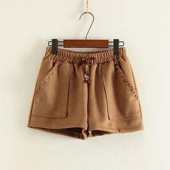 三木社 - 宽腿短裤