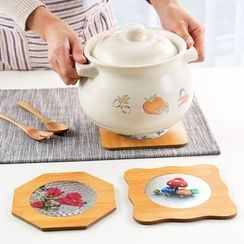 Yulu - Wooden Heat Resistant Pad
