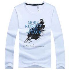 Champking - Long-Sleeve Printed T-Shirt