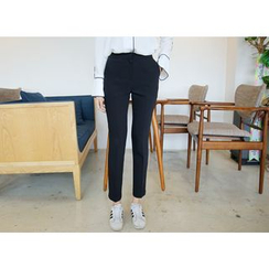 Envy Look - Flat-Front Colored Pants