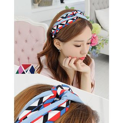 soo n soo - Patterned Hair Band
