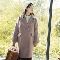 Sens Collection - Notch Lapel Long Coat