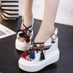 Sleeko - 吊蘇船跟涼鞋