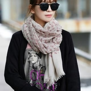 Jcstyle - Owl Patterned Long Scarf