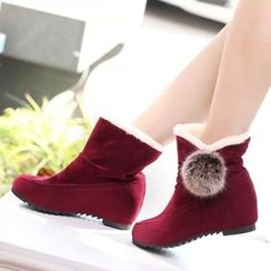 Micha - Hidden Wedge Ankle Boots