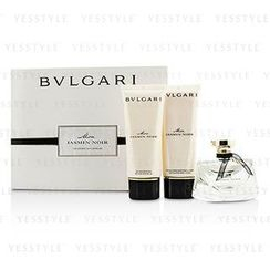 Bvlgari - Mon Jasmin Noir Coffret: Eau De Parfum Spray 75ml/2.5oz + Bath and Shower Gel 100ml/3.4oz + Body Lotion 100ml/3.4oz