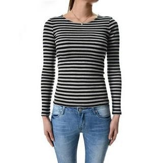 TheLees - Long-Sleeve Stripe T-Shirt