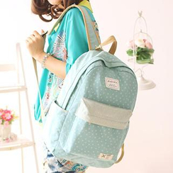 Canvas Love - Dotted Canvas Backpack