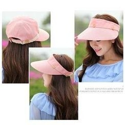GreatMay - Lace Trim Sun Visor