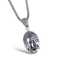 Creole - Buddha Pendant Necklace