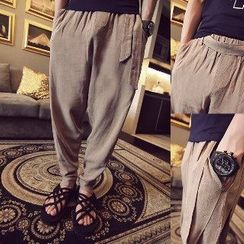 Troopers - Tie-Waist Baggy Pants