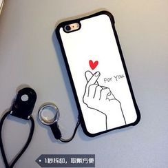 Cartoon Face - Print Mobile Case for iPhone 6 / 6 Plus