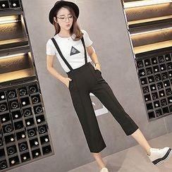 Fashion Street - Capri Jumper Pants