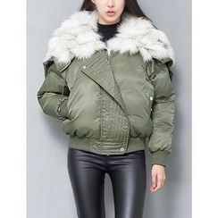 GUMZZI - Faux-Fur Padded Jacket