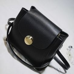 Nautilus Bags - Faux Leather Crossbody Bag
