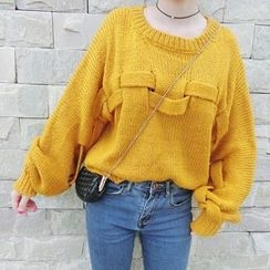 Cloud Nine - Cable Knit Sweater