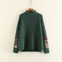 Mushi - Applique Sweater